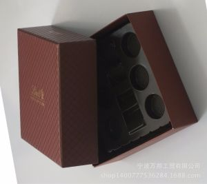 Chinese High Quality Laser Cut Delicate Cardboard Custom Paper Chocolate Box pictures & photos