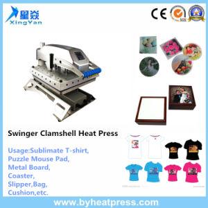 Swing Away Heat Transfer Press Machine 38X38cm 40X60cm pictures & photos