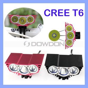 3600lm 3X CREE Xml U2 LED Cycling Bicycle Bike Light Headlamp Headlight +Battery pictures & photos