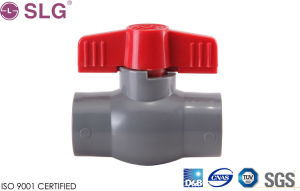 Quality PVC Compact Ball Valve pictures & photos