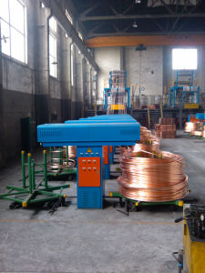Oxygen Free Copper Rod Continuous up-Casting Line & Cold Rolling Mill pictures & photos