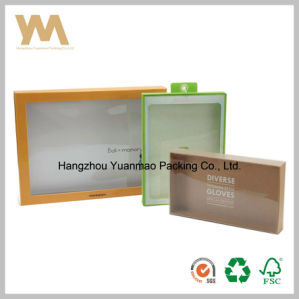 Fashionable Plastic Gift Box with Clear Window pictures & photos