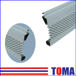 77mm Aluminum Single Layer Slat, Roller Shutter Slat (TMS77J) pictures & photos