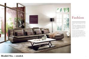 European Style Leather Sofa Set