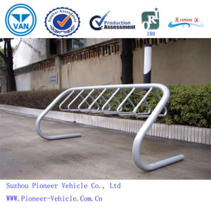 Floor Mounted Hot-Galvanized Bike Rack (ISO SGS TUV Approved) pictures & photos