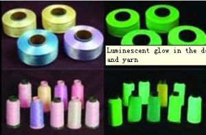 Luminescent Glow in The Dark Embroidery Thread and Yarn