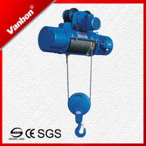 CE Approved Electric Wire Rope Hoist 2ton pictures & photos
