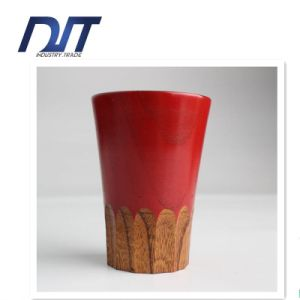 Food Safe Tea Drink Health Wood Cup for Restaurant pictures & photos