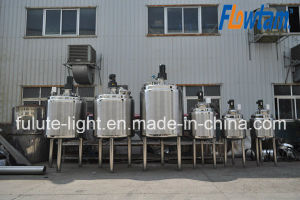 Steam Heating Stainless Steel Mixing Tank pictures & photos