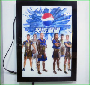 Magnetic Aluminum Frame Acrylic LED Slim Light Box for Advertisement pictures & photos