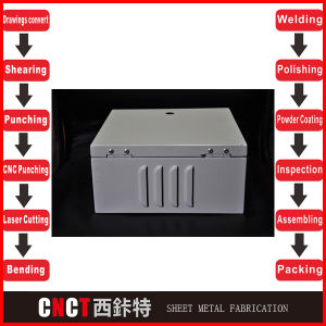 Professional Steel Metal Electronic Cabinets and Enclosures pictures & photos