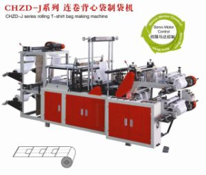 Chzd-J Rolling T-Shirt Bag Making Machine pictures & photos