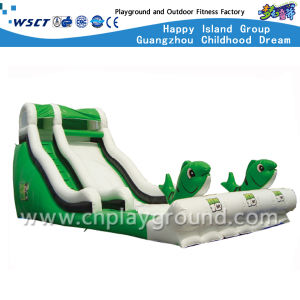 Green Safety Outdoor Inflatable Bouncer for Kids (HD-9402) pictures & photos