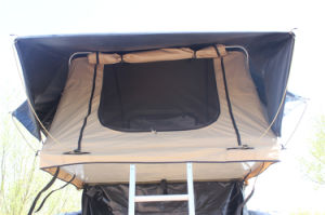 High Quality Poly Cotton 4WD Car Top Roof Tent pictures & photos