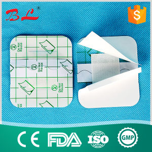 High Quality Transparent Film Dressing Surgical PU Wound Dressing pictures & photos