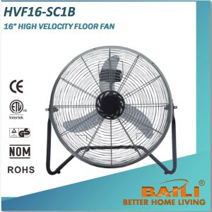 16 Inch High Velocity Floor Fan with Copper Motor pictures & photos