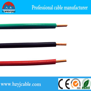 Greeb Blue Red PVC Insulation, Copper Conductor Single Cable pictures & photos