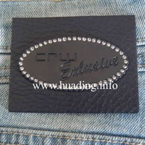 Customized Leather Patch for Jean (PA-07) pictures & photos