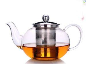 Mdg32 Hand Mand Glassware Filter Tea Pot pictures & photos