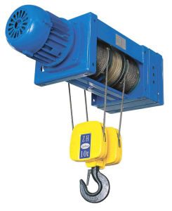 Rope Reeving 1/2 Electric Foot Mounted Hoist pictures & photos
