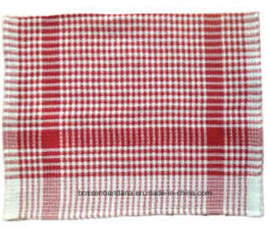 Customized Assorted Color Checked Striped Promotional Cotton Kitchen Dish Tea Cloth Towel pictures & photos