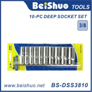 10-PC Professional 3/8-Inch Drive Deep Socket Set pictures & photos