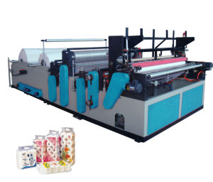 Small Toilet Roll Paper Making Machine pictures & photos