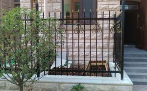 Classic Decorative High Quality Wrought Iron Fencing pictures & photos