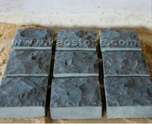 Natural Black Granite Cube Stone Paver for Garden pictures & photos