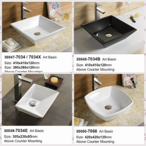 Hot Sales Bathroom Cabinet Wash Sink Wash Basin (30047-30050) pictures & photos
