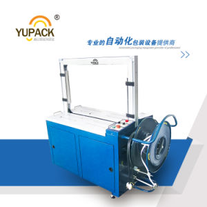 Yupack Fully Automatic High Plate Strapping Machine for Carton Box pictures & photos