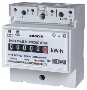 Single Phase Electric DIN-Rail Meter