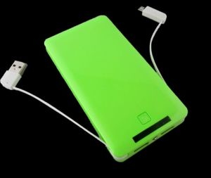 8000mAh 3 Output Port Power Bank for Tablet PC, iPad, iPhone, Smart Phones Jy-050