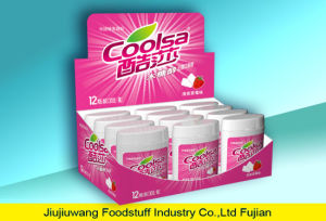 Halal Strawberry Flavor Chewing Gum pictures & photos