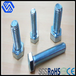 Blue Zinc Plated Full Thread Carbon Steel Metric Hexagon Bolt pictures & photos