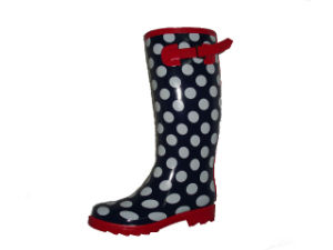 2016 Lady Fashion Rain Boots with Dots (1354)