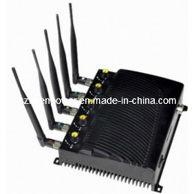 Adjustable Desktop Five Bands Signal Jammer for Cell Phone, GPS, WiFi pictures & photos