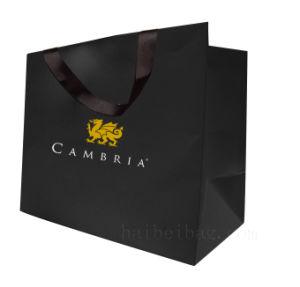 Custom Kraft Paper Gift Shopping Bag for Garment Packing pictures & photos