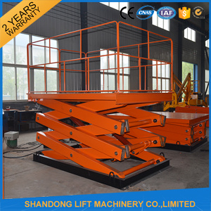 CE Hydraulic Warehouse Lift Tables for Cargo pictures & photos