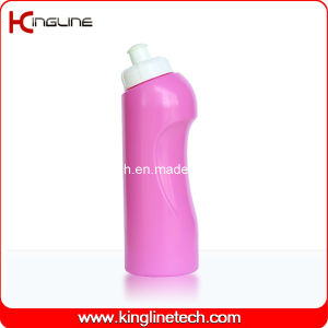 Plastic Sport Water Bottle, Plastic Sport Water Bottle, 450ml Plastic Drink Bottle (KL-6413) pictures & photos