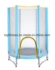 Girl′s Mini Trampoline with Enclosure Net, Girl′s Birthday Gift pictures & photos