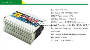 100W Inverter Car Lighter with USB Charger 12V to 220V