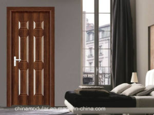 American Style Wood Grain Steel Clad Door with Knock Down Frame (CHAM-A102) pictures & photos