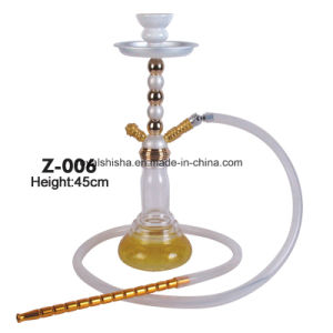 Germany Style Zinc Alloy and Glass Bottle Shisha Hookah pictures & photos