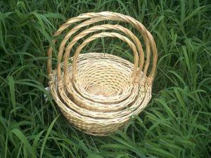 Pretty Wicker Gift Basket (WBS025)