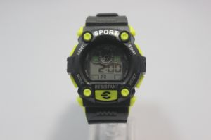 Wholesale Oed/ODM Silicone LED Sports Watches pictures & photos
