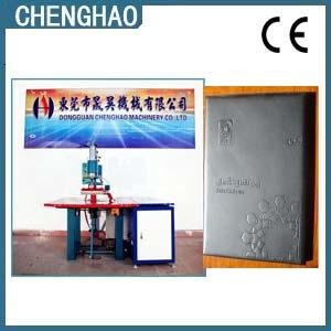 High Frequency Leather Menu Cover/Holder Embossing Machine