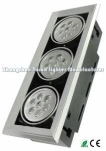 7*1W*3 Recessed LED Grille Light Tl-Ga80-0703