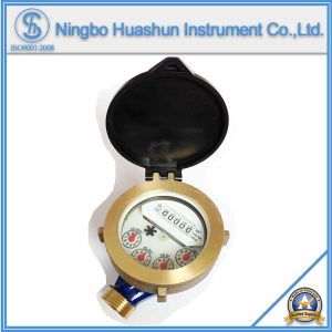 Single Jet Wet Type Brass Body Water Meter pictures & photos
