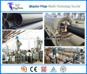 90 / 33 HDPE Pipe Extruder / HDPE Pipe Manufacturing Machines pictures & photos